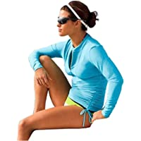 0e75836e935b5 Women s UV Sun Protection Long Sleeve Rash Guard Wetsuit Swimsuit Top