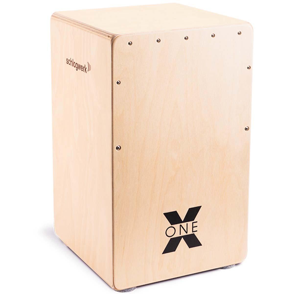 Schlagwerk Cajon X-One CP-107 Fingerprint und Sitzpad  **TOP**