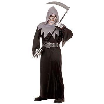 NET TOYS Disfraz de la Muerte Traje Halloween Horror: Amazon ...