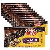 Enjoy Life Mini Semi-Sweet Chocolate Chips, 10 oz (Pack of 12)