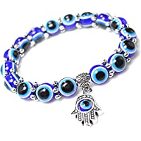 Young & Forever D'Vine Collection Blue Crystal Bracelet for Men and Women