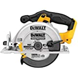 DEWALT 6-1/2-Inch 20V Max Circular Saw, Tool Only (DCS391B),Yellow
