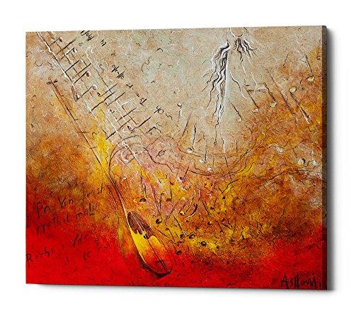 Epic Graffiti Song of Rexha Giclee Canvas Wall Art 16