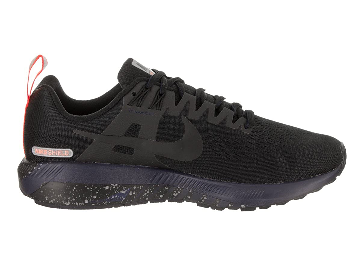 f4af3b1e6f374 Nike Women s Air Zoom Structure 21 Shield Black Black Black Obsidian  Running Shoe 6 Women US  Amazon.co.uk  Clothing