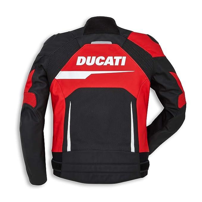 Amazon.com: Ducati Speed Evo C1 Jacket - Red & Black - Perforated - Size 54: Automotive