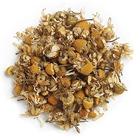 Frontier Co-op Organic Chamomile Flowers, German, Whole, 1 Pound Bulk Bag - Dried Flower Shop