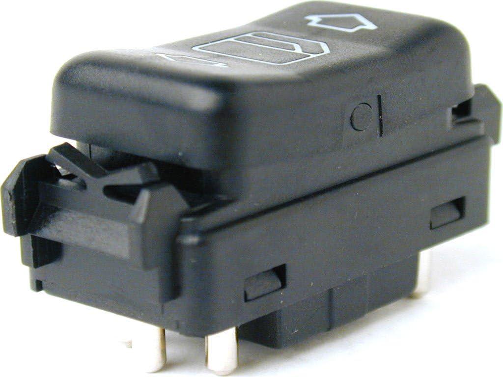 Interruptor para Elevalunas eléctrico delantero derecho para Mercedes-Benz W124, NP-W126, W201 y W463