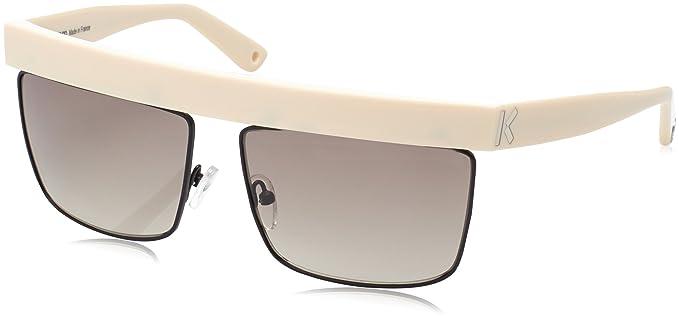 b44e5c3ea4 Image Unavailable. Image not available for. Colour: Kenzo Sunglasses KZ  3182 C02 Cream Beige