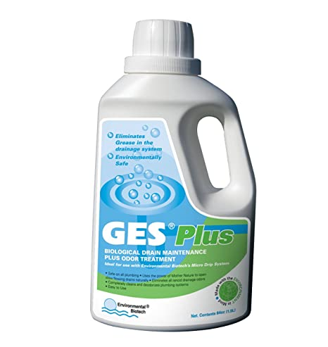EcoWorks Biotech Chemical-free Drain Cleaner and Opener Liquid, 1 89 L