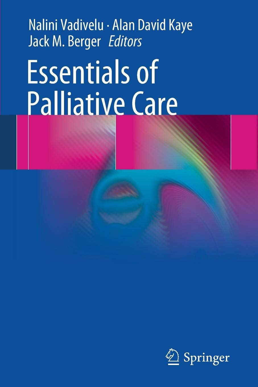 Essentials of Palliative Care: Amazon co uk: Nalini Vadivelu
