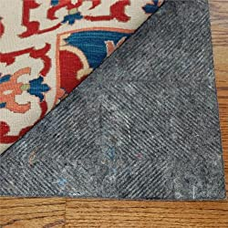 8'x10' Durahold Plus(TM) Felt and Rubber Rug Pad for Hard Floors