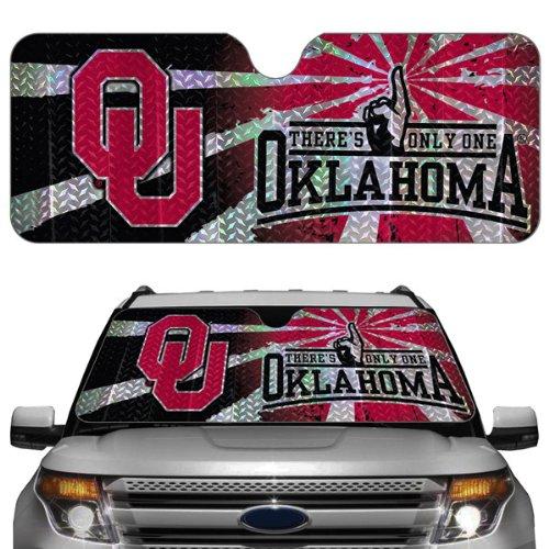 - NCAA Oklahoma Sooners Auto Sun Shade