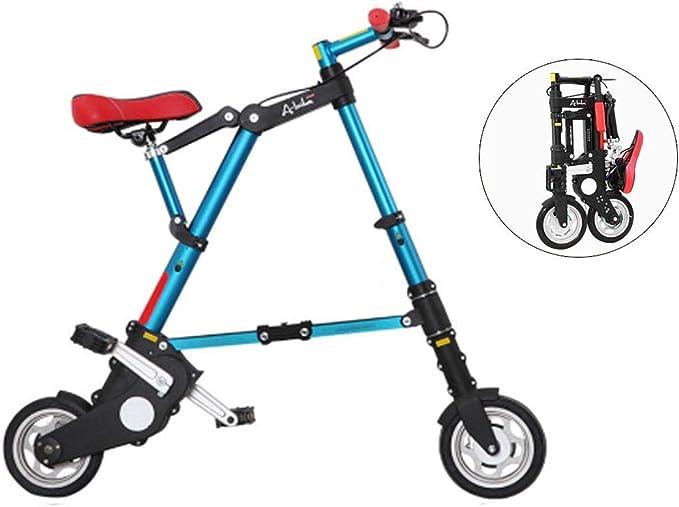 WZB Bicicletas Plegables Mini voladoras livianas, 8