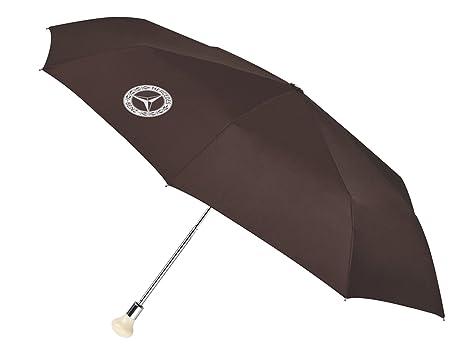 Mercedes-Benz, Paraguas de bolsillo, 300 SL marrón / plata