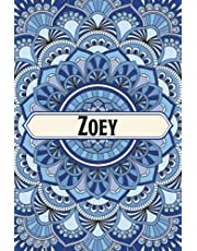Zoey's Notebook: Lined Notebook / Journal Gift / 120 Pages / 6x9 / Soft Cover / Matte Finish
