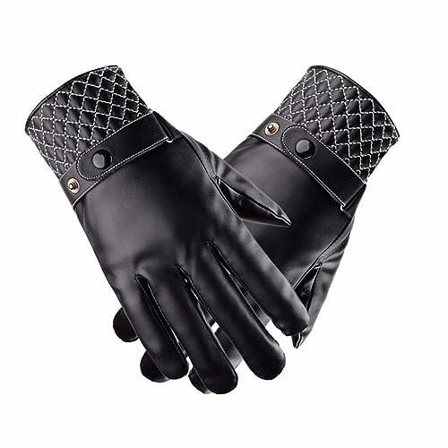 YALL Señoras Guantes Cálido Todo Se Refiere A La Pantalla Táctil De Tamaño Glovesbone