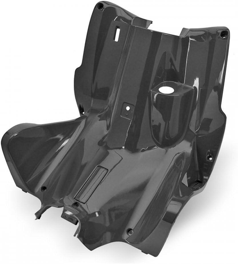 TNT f/ür Yamaha Aerox//MBK Nitro Beinschild//Innenraum Verkleidung unlackiert schwarz