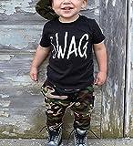 Ma&Baby Toddler Boy Clothes Short Sleeve Black