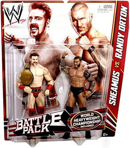 WWE Series 21 Battle Pack: Sheamus vs. Randy Orton Figure, 2-Pack by WWE