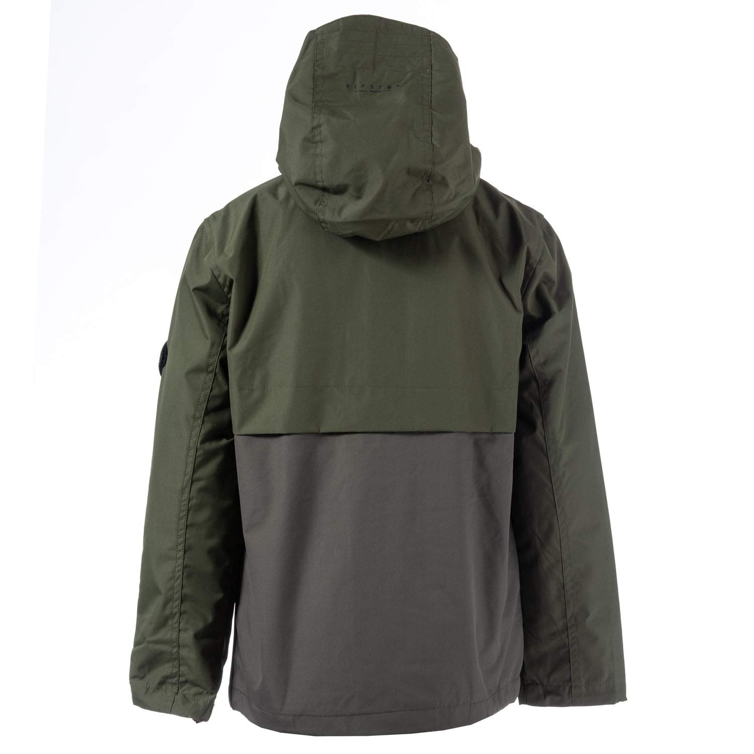 Ripstop Boys Laygos Waterproof Jacket 5-6 Green