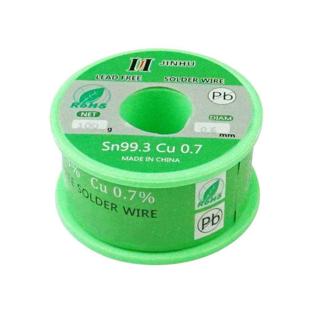 Fil de Soudure sans Plomb avec Noyau de colophane pour Le brasage /électrique 100g SN99.3 CU0.7 ningxiao586 Fil /à souder