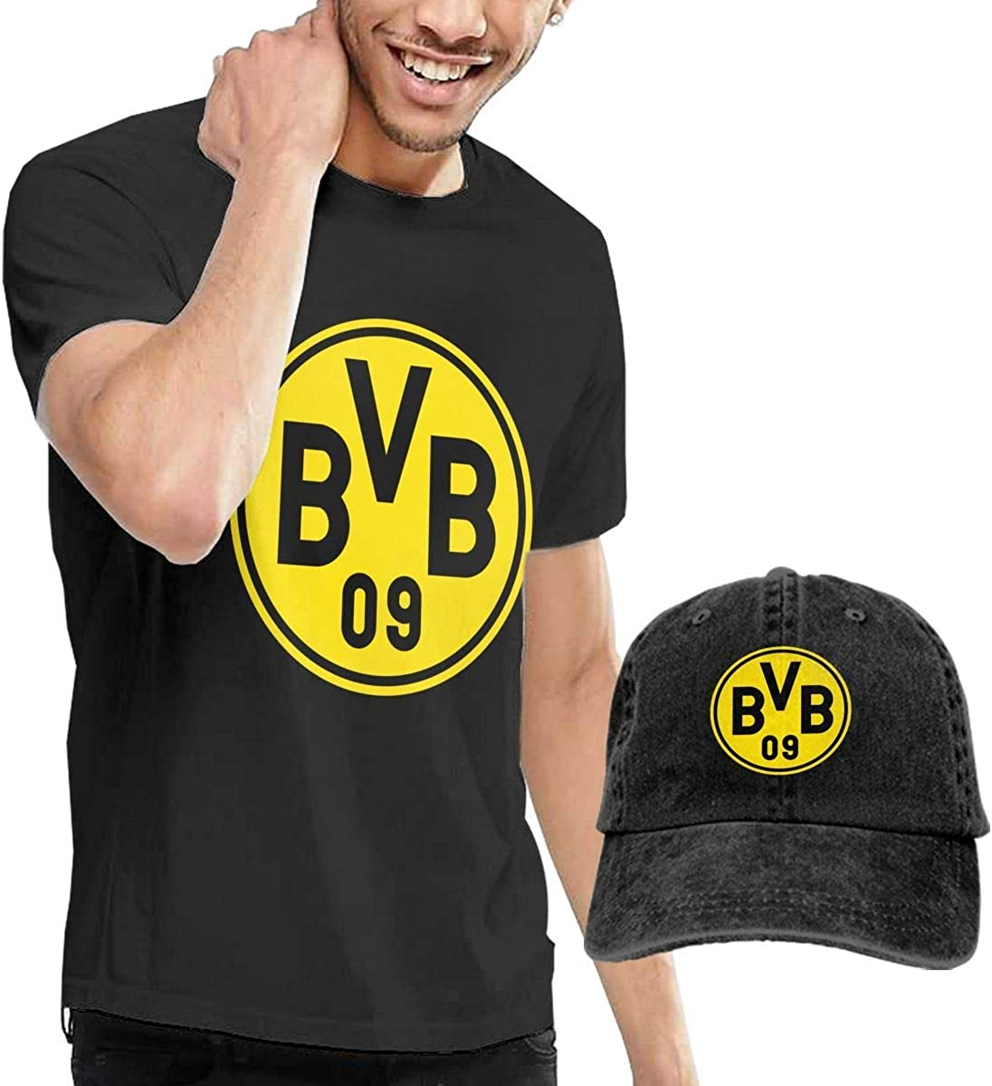 AOCCK Camisetas y Tops Hombre Polos y Camisas, Borussia ...