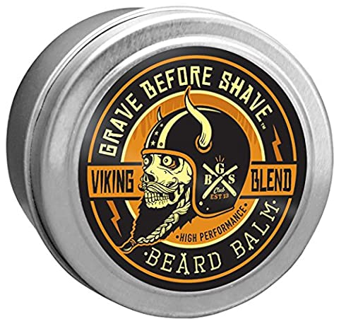 Grave Before Shave™ Viking Blend Beard Balm (4 ounce) (Shave Viking)