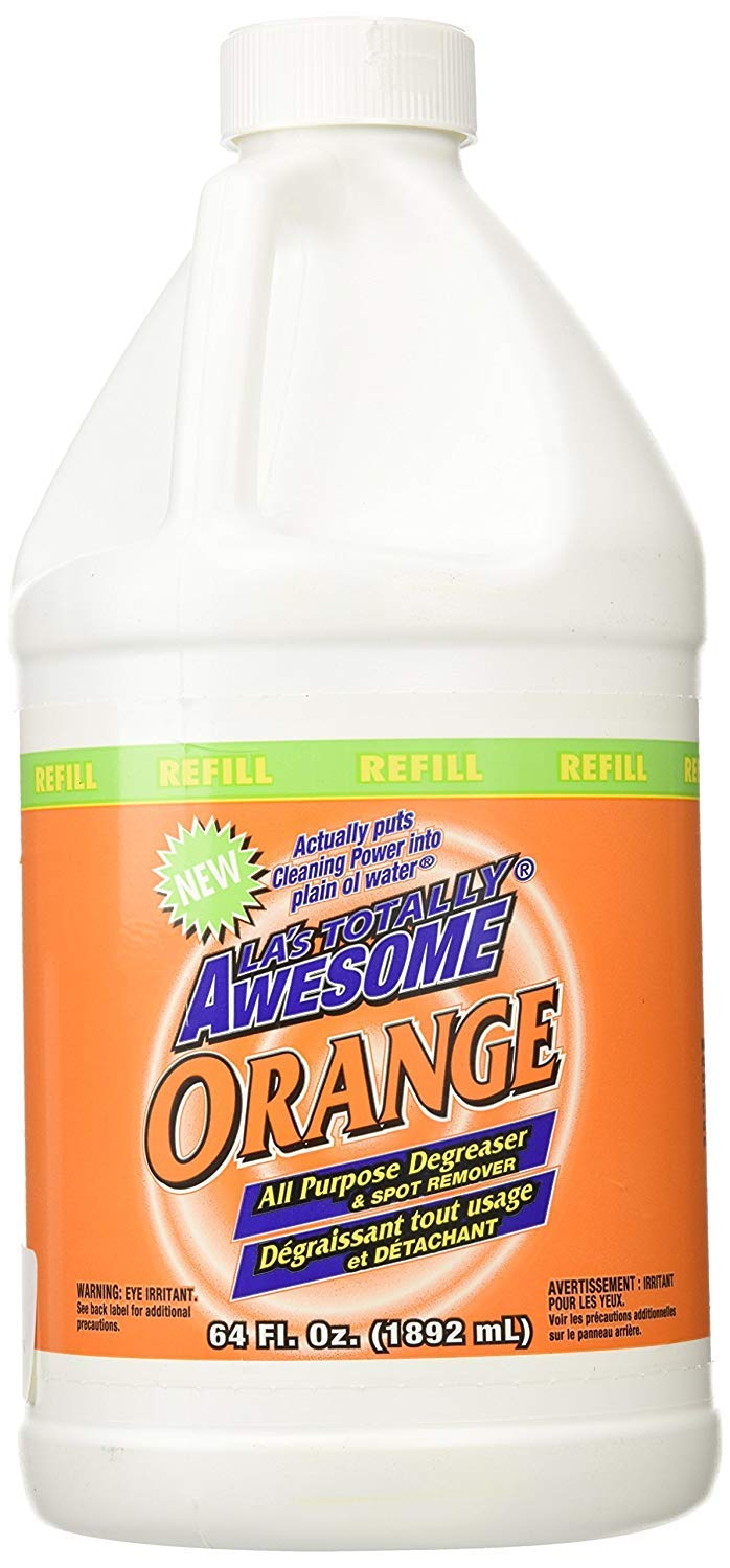 (Pack of 6) Awesome Degreaser Orange, Spot Remover, 64oz by Awesome Degreaser