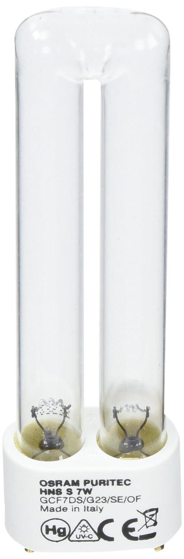 Osram HNS S G23 7 Watt Puritec Germicidal Ultraviolet Lamps