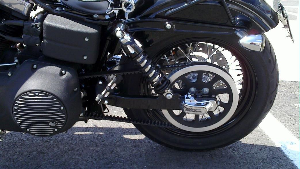 Progressive Suspension 430-4063B Black Anodized Finish 11.5 Standard High Performance High Style Rear Suspension Shock