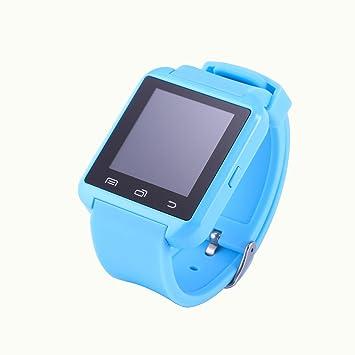 Jambo U8 reloj inteligente pantalla táctil bluetooth 4.0 reloj (azul cielo)