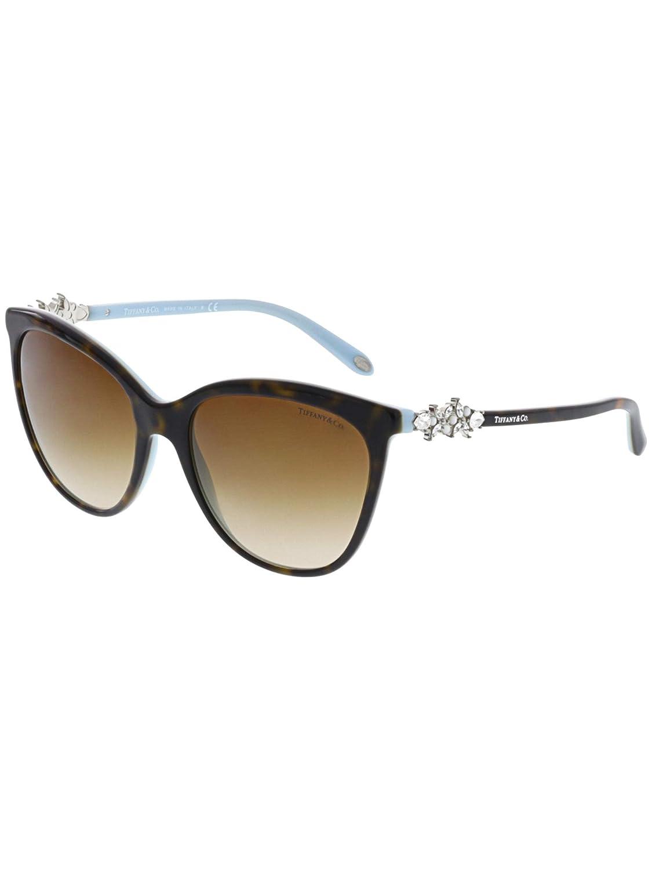 1042e6da71 TF 4131HB - 81343B Sunglasses Havana Blue w  Brown Gradient 56mm  Tiffany    Co  Clothing