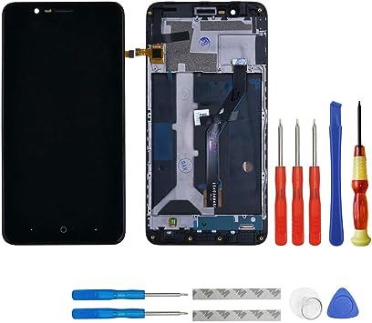 Pantalla LCD para ZTE Blade Z Max z982/ZMax Pro 2 Negro Pantalla táctil de pantalla Assembly digitalizador + Marco + Herramientas: Amazon.es: Electrónica