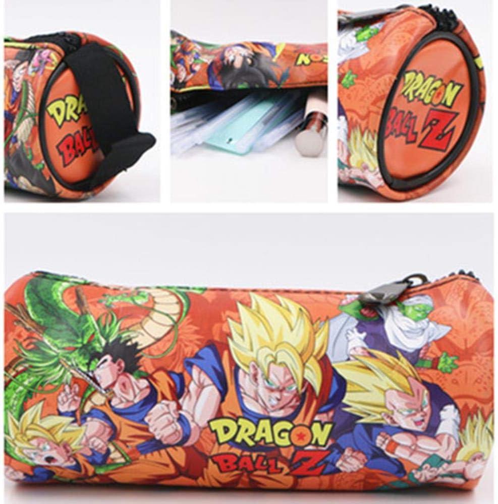 Twhoixi Anime Dragon Ball Z Goku PU Lápiz Bolsa Anime Lápiz Estuche Niños Papelería Útiles Escolares Regalo de Dibujos Animados: Amazon.es: Equipaje