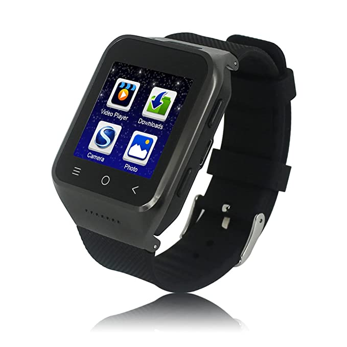 Amazon.com: Eican SW8-1 3G WIFI Android 4.4 GPS Smart Watch ...