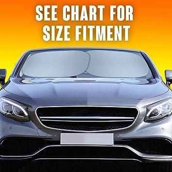 Amazon Com Motor Trend Pop Up Auto Shades 2 Pack Standard Auto