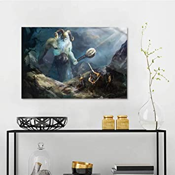 Amazon Com One1love Viking Abstract Oil Paintings Heroes Of