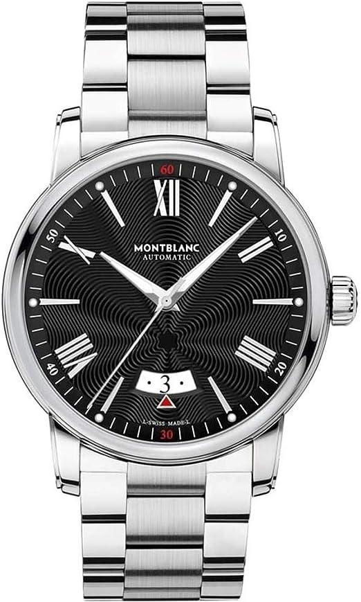 Amazon.com: Montblanc 4810 Automatic Black Dial Mens Watch ...