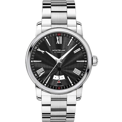 Montblanc 4810 Reloj de Hombre automático 42mm Correa de Acero 115935: Amazon.es: Relojes