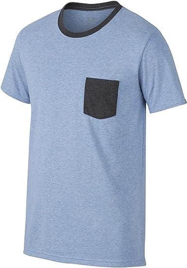 Oakley - Camiseta de manga corta para hombre - Azul - XX-Large: Amazon.es: Ropa y accesorios