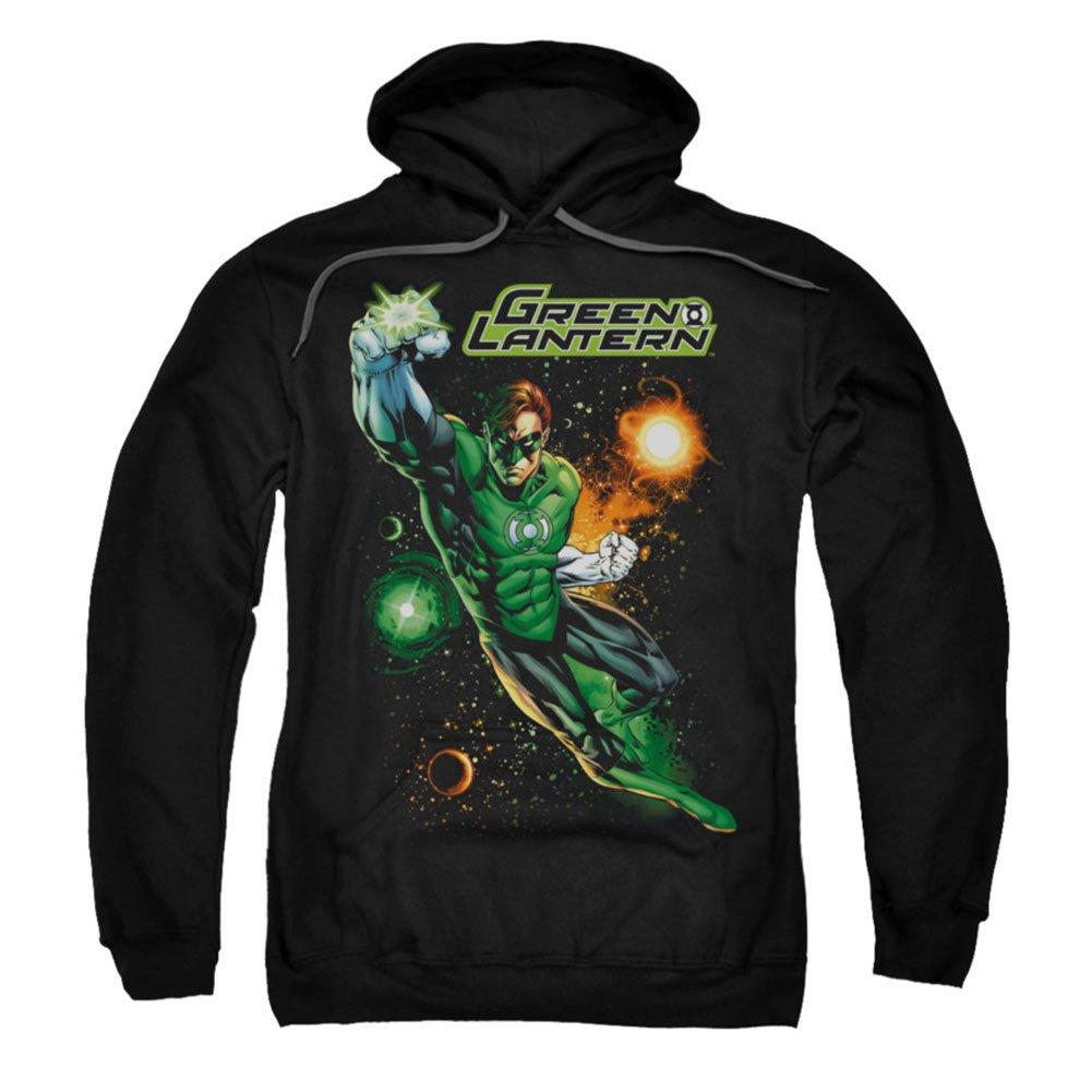 Green Lantern Galactic Guardian in Space Adult Sweatshirt Hoodie