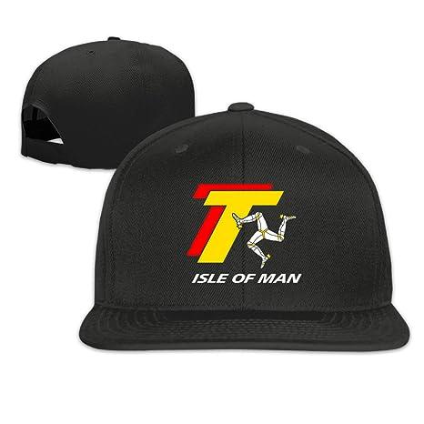 63e20c234f0 TT TOURIST TROPHY ISLE OF MAN Snapback Cap Hat Baseball Caps Hat   Amazon.ca  Clothing   Accessories