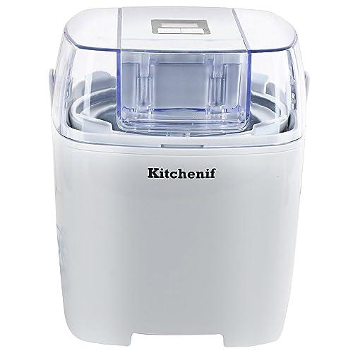 5. Kitchenif Digital Ice Cream, Sorbet, Slush & Frozen Yoghurt Maker Capacity 1.5 Liters