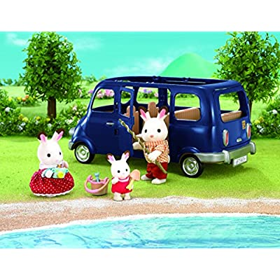 Sylvanian Families 4699 Bluebell Seven Seater: Toys & Games