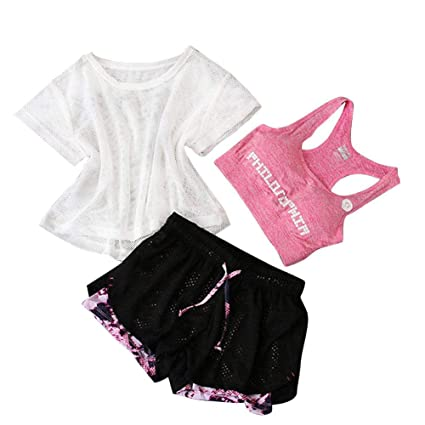 Amazon.com: Wind-Susu Sportswear Set Yoga Fitness Clothing ...