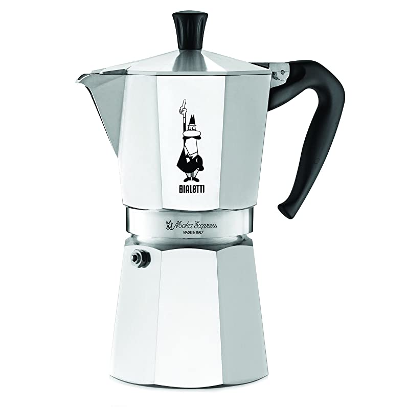 Bialetti The Original Bialetti Moka Express Made in Italy 9-Cup ...