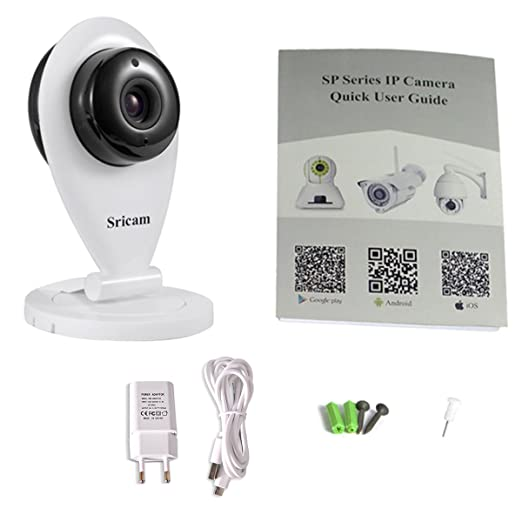 31 opinioni per XCSOURCE Sicurezza interna Wireless IP Camera 720P HD Sricam Wi-Fi ONVIF H.264