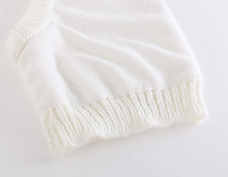 Connectyle Toddler Kids Warm Winter Windproof Hat Knit Fleece Lined Hood Scarf Beanies