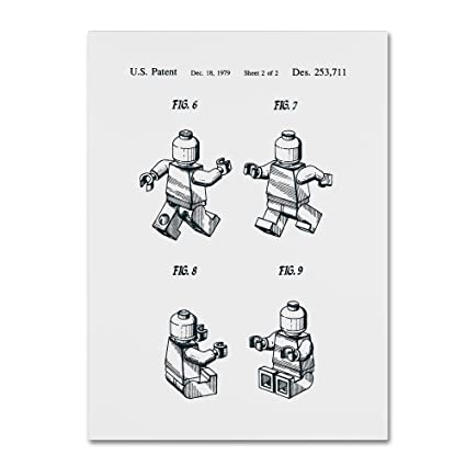 Amazon com: Trademark Fine Art Lego Man Patent 1979 Page 2