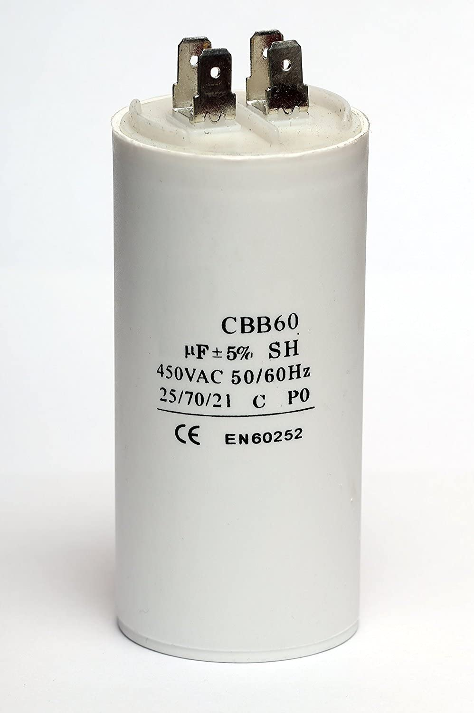 Condensador - 16 uF - INTERHOME©
